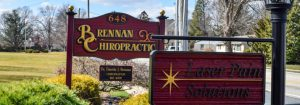 Chiropractic Annville PA Office Sign
